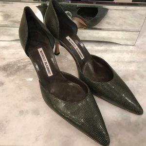 Authentic Manolo blahnik shoes